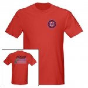 Hogue Grips T-Shirt Medium Red