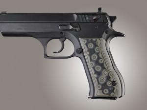 Baby Eagle .40 / 9mm Jericho & Uzi Eagle G10 - G-Mascus Green