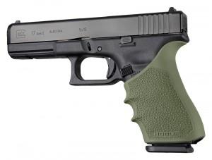 HandAll Beavertail Grip Sleeve Glock 17, G17L, G19X, G34, G34 MOS Gen 1-2-5 OD Green