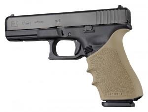 HandAll Beavertail Grip Sleeve Glock 17, G17L, G19X, G34, G34 MOS Gen 1-2-5 Flat Dark Earth