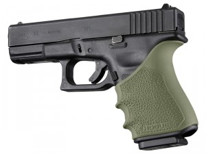 HandAll Beavertail Grip Sleeve Glock 19, 23, 32, 38 Gen 3-4 OD Green