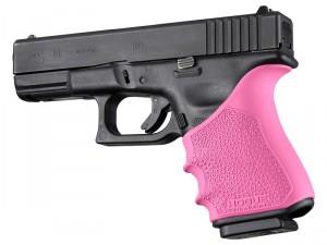 HandAll Beavertail Grip Sleeve Glock 19, 23, 32, 38 Gen 3-4 Pink
