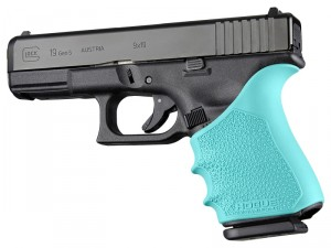 HandAll Beavertail Grip Sleeve Glock 19, 23, 32, 38 Gen 1-2-5 Aqua