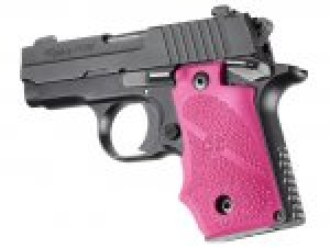 SIG Sauer P238 Rubber Grip with Finger Grooves Pink