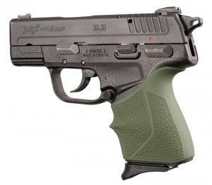 Springfield Armory XD-E 9mm/.45ACP: OD Green HandALL Beavertail Grip Sleeve