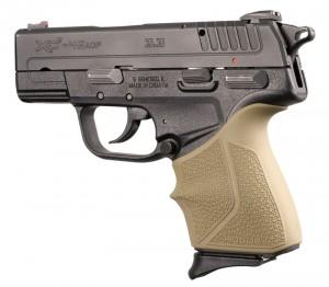 Springfield Armory XD-E 9mm/.45ACP: HandALL Beavertail Grip Sleeve - FDE