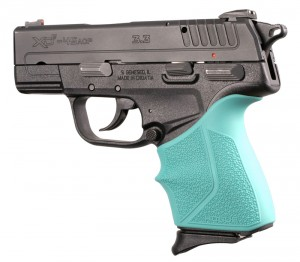 Springfield Armory XD-E 9mm/.45ACP: HandALL Beavertail Grip Sleeve - Aqua