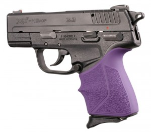Springfield Armory XD-E 9mm/.45ACP: Purple HandALL Beavertail Grip Sleeve