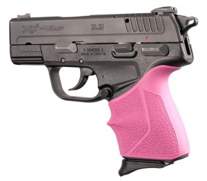 Springfield Armory XD-E 9mm/.45ACP: HandALL Beavertail Grip Sleeve - Pink