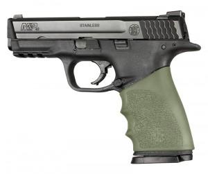 Handall Hybrid S&W M&P 9MM, 40S&W, 357SIG Grip Sleeve OD Green