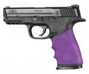Handall Hybrid S&W M&P 9MM, 40S&W, 357SIG Grip Sleeve Purple