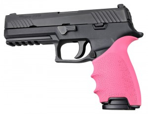 HandAll Beavertail Grip Sleeve Sig Sauer P320 Full Size Pink