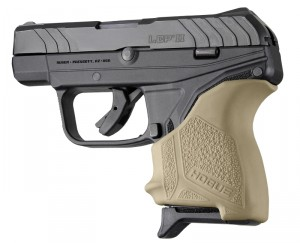 Ruger LCP II: HandALL Beavertail Grip Sleeve - FDE