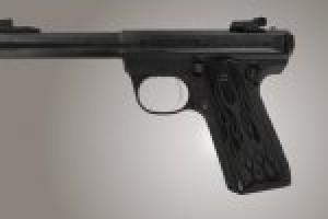 Ruger MK III 22/45 RP Flames Aluminum - Black Anodize