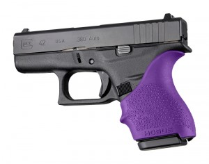 GLOCK 42, 43: HandALL Beavertail Grip Sleeve - Purple
