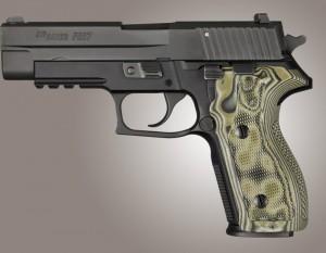 SIG Sauer P227 DA/SA Checkered G10 - G-Mascus Green