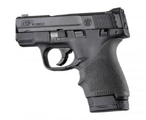 S&W M&P Shield 9mm & 40 / Ruger LC9, EC9: HandALL Beavertail Grip Sleeve - Black