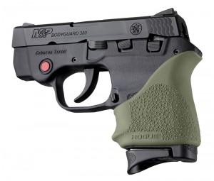 S&W Bodyguard 380 / Taurus TCP & Spectrum: HandALL Beavertail Grip Sleeve - OD Green