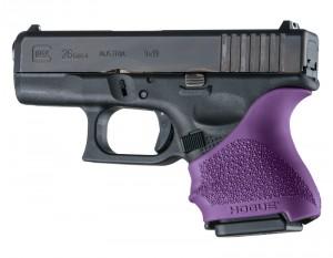 GLOCK 26, 27: HandALL Beavertail Grip Sleeve - Purple