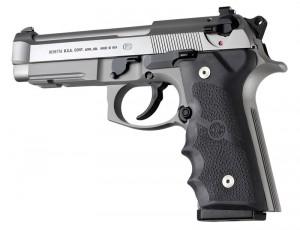 Beretta 92 M9A3/Vertec: Cobblestone Rubber Grip - Black