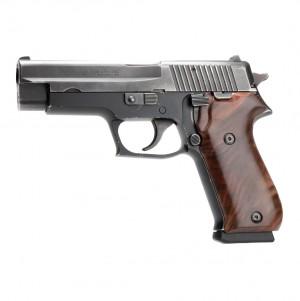 SIG SAUER P220 American: Smooth Hardwood Grip - Walnut Burl