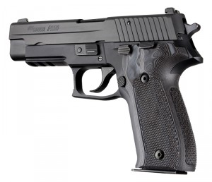 SIG Sauer P226 Checkered G10 - G-Mascus Black/Gray