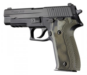 SIG Sauer P226 Checkered G10 - G-Mascus Green