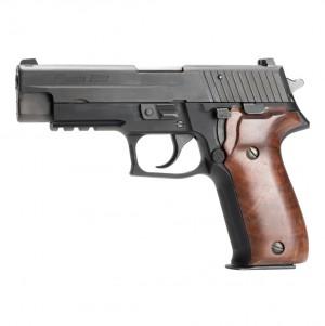 SIG SAUER P226: Smooth Hardwood Grip - Walnut Burl