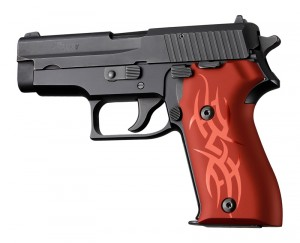 SIG Sauer P225 Tribal Aluminum - Red Anodize