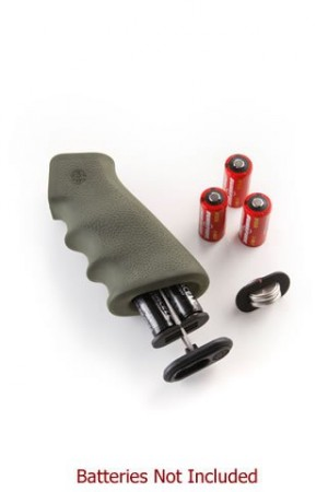 AR-15/M-16 OverMolded Rubber Grip with Cargo Management System Storage Kit OD Green