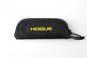 "Hogue Gear Small Folder Zipper Knife Pouch - Black 2"" tall X 5"" long"