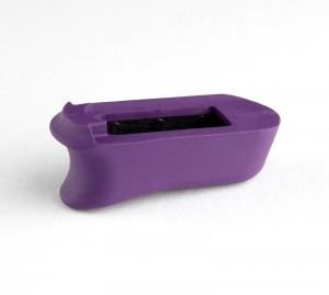 Kimber Micro 9: Purple Rubber Magazine Extended Base Pad