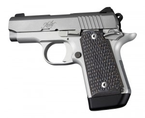 Kimber Micro 9 Ambi Safety Piranha G10 - G-Mascus Black/Grey