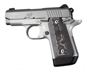 Kimber Micro 9 Ambi Safety Smooth G10 - G-Mascus Black/Grey