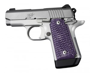 Kimber Micro 9 Ambi Safety Piranha G10 - G-Mascus Purple Lava