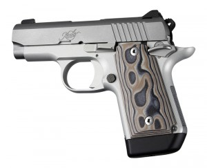 Kimber Micro 9 Ambi Safety Smooth G10 - G-Mascus Dark Earth