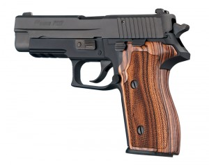 SIG Sauer P227 DA/SA Kingwood Checkered