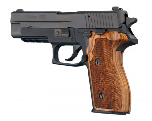 SIG Sauer P227 DA/SA Cocobolo Checkered