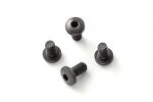 1911 Screws (4) Hex Head Black