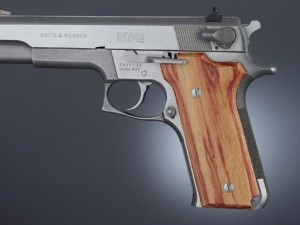 S&W Model 645 Auto, Tulipwood