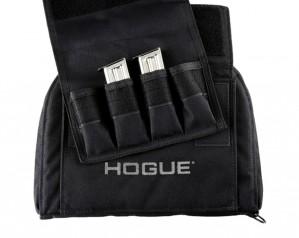 Black Medium Pistol Bag with 4 Magazine Pouch