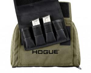 OD Green Medium Pistol Bag with 4 Magazine Pouch