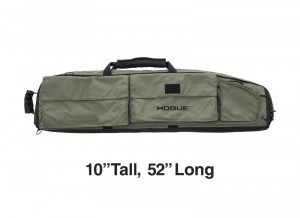 "Extra Large Double Rifle Bag - OD Green 10"" Tall 52"" Long"