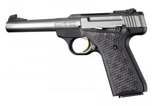 Browning BuckMark Piranha Grip G10 - G-Mascus Black/Gray