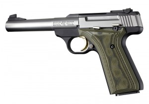 Browning Buckmark Checkered G10 - G-Mascus Green