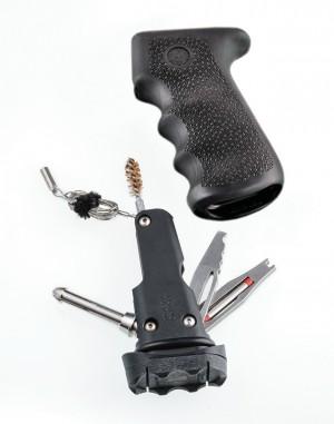 AK-47/AK-74 Rubber Grip Black with Samson Field Survival Kit