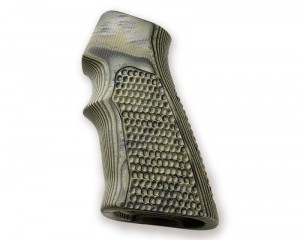 AR15 / M16 Piranha Grip G10 - G-Mascus Green