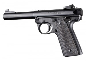 Ruger 22/45 MK IV: Black/Grey G-Mascus G10 Piranha Grip Panels