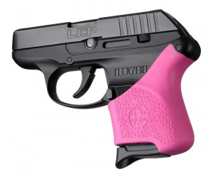 Handall Hybrid Ruger LCP Grip Sleeve Pink