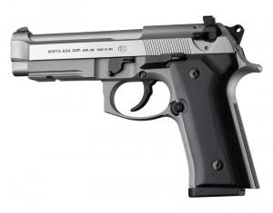 Beretta 92 M9A3/Vertec: Smooth G10 Grip Panels - Solid Black